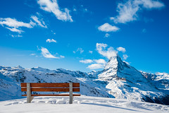 Have a seat (Rico the noob) Tags: dof z6 2470mm comerge nature outlook switzerland outdoor clouds trees zermatt tree schweiz published landscape sky 2018 mountains 2470mmf4 snow mountain
