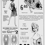 Illustrated 1966 Newspaper Ad, Belk-Lindsey Fashion Sale thumbnail