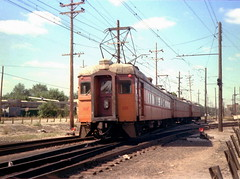 South Shore Michigan City yards 9-22-78 2 (jsmatlak) Tags: chicago south shore bend indiana line train electric railway interurban nictd mu
