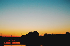 Flame (gius_laino) Tags: acqua water europe explosion reflections travel trip tramonto tuscany sky skyline city journey holidays sunset lungarno cielo pisa fiume shades river blue