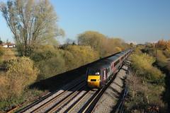 43301 Willington, Derbyshire (Paul Emma) Tags: uk england derbyshire railway railroad dieseltrain train willington 43301