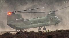 RNLAF CH-47D at the Oirschotse Heide Low Flying Area (Nicky Boogaard) Tags: oirschotseheide oirschot glv glv5 glvv ch47d ch47 chinook wokkawokka d663 rnlaf royalnetherlandsairforce koninklijkeluchtmacht klu luchtmobielebrigade luchtmacht helicopter military militaryaviation