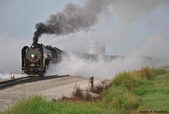 Steam Show in Newton (Joseph S. Randall) Tags: iowainterstaterailroad iowainterstate6988 iais6988 newtonia iowa