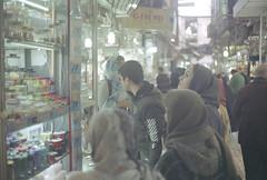 Bāzār e Bozorg (chrissomos) Tags: film fujifuilm canon iran tehran travel canonet