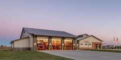 Sherman Fire Station (Wade Griffith) Tags: 2018 ems firehouse firestation firerescue kitchenisland november sherman station4 tx texas afternoon ambulance architecture bathroom bed chair couches desk dusk evening exterior firetrucks firefighters garage interior kitchen lounge office patio patiofurniture sunny table