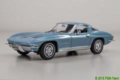 Welly 24073b Chevrolet Corvette 1963 (Stefan's Gartenbahn) Tags: welly 24073b 24009ybk citroen 2cv chevorlet corvette gartenbahn zubehör gartenbahnzubehör auto car 124 charlston 2cv6 fgb fgbberlin fgbteam modellauto