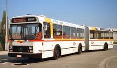 719 SERVICE SPECIAL (brossel 8260) Tags: belgique bus liege stil