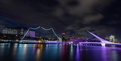 Puerto Madero, Buenos Aires Argentina (norberto.endo) Tags: puertomadero argentina buenosaires caba landscape longexposure night nightphotography arquitectura puerto puentedelamujer bridge irix15mm