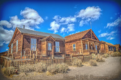 The Street Where Nobody Lives (Michael F. Nyiri) Tags: ghosttown bodiestatehistoricpark bodieghosttown bodieca abandoned clouds