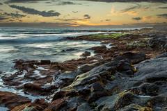 KonaSunset Day 2 (Fog City Undercover) Tags: ocean hawaii kona beach rocks water