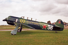 Yak 11 (F.A.Z.H.Q) (boeing-boy) Tags: yak11 boeingboy mikeling manston