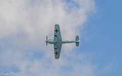 Messerschmitt bf109 (safc1965) Tags: messerschmitt bf109 duxford airshow ww2 imperial war museum battle britain luftwaffe germany