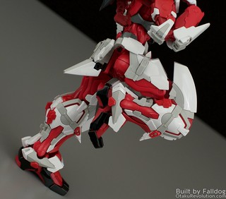 HiRM Astray Red Frame Gundam 24 by Judson Weinsheimer