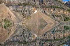 Textures (Philip Kuntz) Tags: textures geometry reflections geometricshapes morainelake lakemoraine banff banffnationalpark alberta canada geology