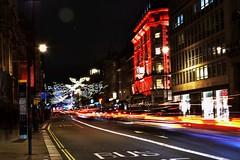 London, Piccadilly (ovidiumarcu1994) Tags: londonlights london trails piccadilly unitedkingdom christmastime xmas night nikon red londonuk d3400 stock kit alllights