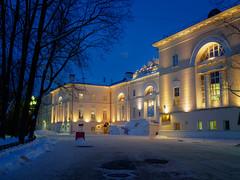 МГТУ им.Баумана (banagher_links) Tags: olympus omd em10 mark iii sigma 19mm moscow micro 43 mft architecture night russia