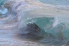 moving water (bluewavechris) Tags: maui hawaii makena oneloa ocean water sea swell wave surf beach