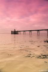 Clevedon Pier: Sunglass Edit (Melanie Gregory) Tags: cloudscape clouds nikon seascape sea sunglasses photography victorianarchitecture victorian architecture clevedon somerset coast seaside pier