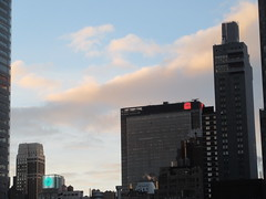 2018 December Christmas Morning Clouds Holiday 8407 (Brechtbug) Tags: 2018 december christmas morning light virtual clock tower from hells kitchen clinton near times square broadway nyc 12252018 new york city midtown manhattan winter holiday weather building breezy cloud hell s nemo southern view tuesday
