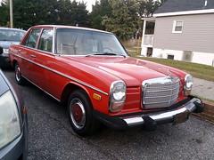1973-76 Mercedes-Benz 230 (splattergraphics) Tags: 1973 1976 mercedesbenz 230 mercedes