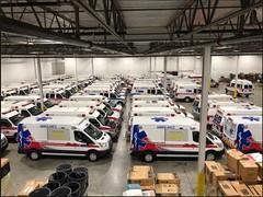Georgia ambulances (CasketCoach) Tags: ambulance ambulancia ambulanz ambulans rettungswagen krankenwagen paramedic ems emt emergencymedicalservice firefighter fordtransit