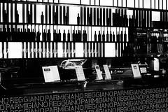 Parmigiano Reggiano (@WineAlchemy1) Tags: blackwhite monochrome noiretbanc neroebianco parmigianoreggiano cheese dop parmesan bar drinks food bologna italy silhouettes bottles glasses ficoeatalyworld