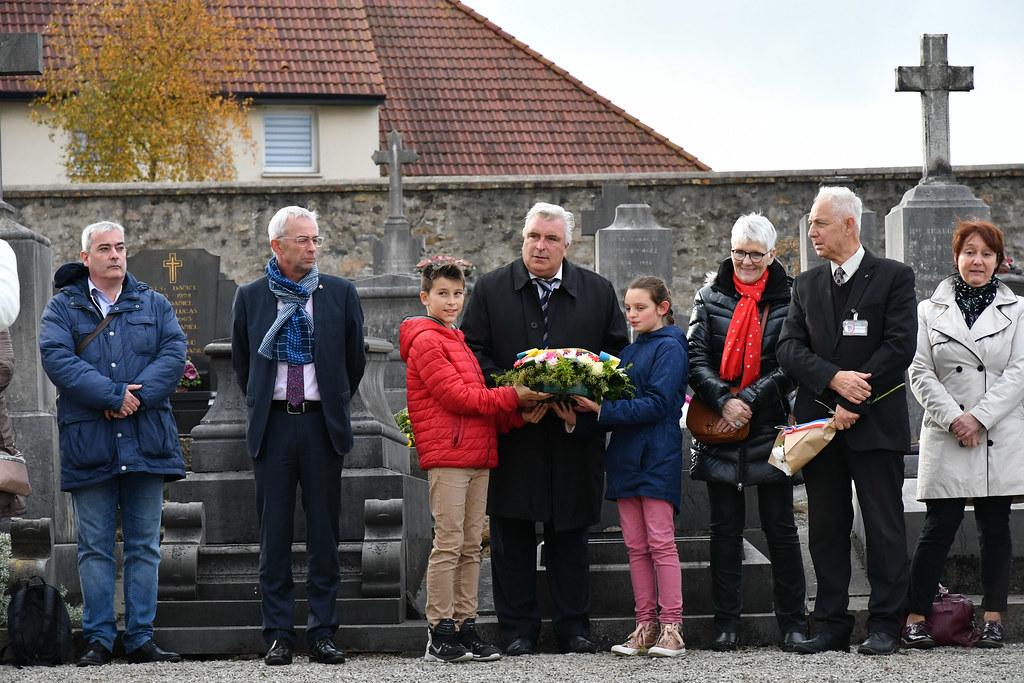cérémonie dépots de gerbes 14-18 avec les écoles 09.11.2018  (4)