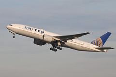 Boeing 777 N78001 United Airlines (Jarco Hage) Tags: schiphol amsterdam ams eham byjarcohage aviation airplane vliegtuig aircraft vliegtuigen nederland netherlands airport boeing 777 n78001 united airlines