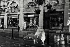 Pub in the Street (Bury Gardener) Tags: burystedmunds suffolk england eastanglia uk streetphotography street streetcandids snaps strangers candid candids people peoplewatching folks 2018 nikond7200 nikon e bw blackandwhite monochrome mono traverse