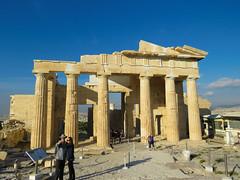 The Acropolis #22 (jimsawthat) Tags: ancient stone ruins propylaea urban athens greece acropolis