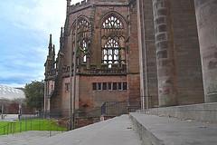 Ruins of 14th century cathedral church of Saint Michael (Manoo Mistry) Tags: ruins coventrycathedral church churchcathedral coventry westmidlands sky nikond5500 nikon tamron tamron18270mmzoomlens