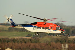G-WNSJ Sikorsky S92A EGPD 23-12-14 (MarkP51) Tags: gwnsj sikorsky s92a chcscotia aberdeen dyce airport abz egpd scotland helicopter airliner aircraft airplane plane image markp51 nikon d7100