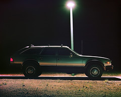 1984 AMC Eagle (musubk) Tags: car cars amc eagle film analog large format tachihara field camera 4x5