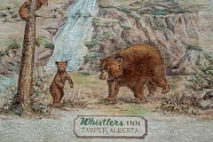 Whistlers Inn (anthsnap!) Tags: canada canadianrockies whistlersinn jasper alberta bear