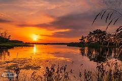 Sonnenuntergang in Schweden (Betrachtungsweisen) Tags: 2018 sonnenuntergang rafshagsudden schweden juli sunset landscape sweden kalmarcamping canon sverige eos 77d reflektion reflection