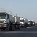 Trucks coming from djibouti port, Afar region, Semera, Ethiopia