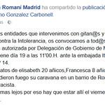 19.5.17 Concentración itanos ante embajada de Italia