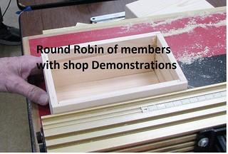 Round Robin, Shop Demonstrations 2018
