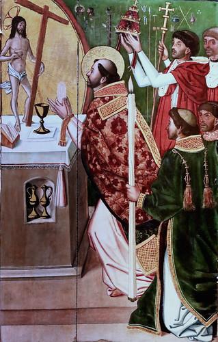 IMG_8413 Maestro de  Los Lunas vers 1500 Tritptych of the flagellation  Museo Santa Cruz  Toledo