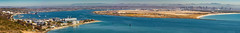 San Diego Bay Entrance (FotoGrazio) Tags: horizon travelphotography nature water fotograzio city panorama photoeffect cabrillomonumentpark california urban waynegrazio scenic outdoors sandiego suburban usa landscape phototoart pacificocean navalsubmarinebase mountains cityscape mexico bluewater waynestevengrazio nascoronado travel architecture beautiful waynesgrazio seascape lovely tourism cityofsandiego photomanipulation