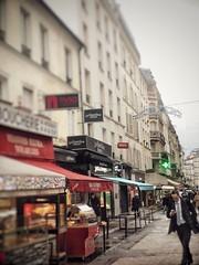 Collision course – rue de Lévis (marc.barrot) Tags: mobilephone landscape urban streetphotography france paris 75017 ruedelévis shotoniphone