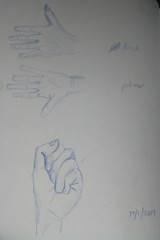 Hands (magnuscanis) Tags: 20190119 sketch anatomy hand