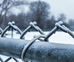 P1440001-Edit (montrealmaggie) Tags: fence ice freezing drizzle cold winter
