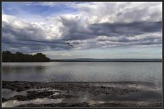 Good Morning Sanctuary Point (itsallgoodamanda) Tags: clouds sky shoalhaven seascape skyscape skyphotography bigsky sea seaside southcoast stgeorgesbasin seascapephotography earlymorning ocean photography photoborder fluffyclouds amandarainphotography australia australianlandscape australiassouthcoast summer2019 itsallgoodamanda jervisbayphotography jervisbay beach landscape landscapecoast coastallandscape coastal coastline coast calmocean stormclouds stormyseascape