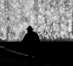 Light And Shadow (CoolMcFlash) Tags: street streetphotography person hat man bw bnw blackandwhite light shadow flickrfriday fujifilm x30 silhouette vienna candid hut mann kontur lichter sw schwarzweis schatten fotografie photography night nacht