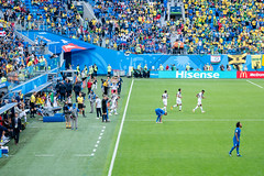DSCF9928 (peter.n0thing) Tags: brazil football world cup russia 2018 soccer stadium saintpetersburg fans