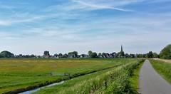 Over de Dijk [Explored] (Peter ( phonepics only) Eijkman) Tags: nederland netherlands nederlandse noordholland zaanstreekwaterland waterland holland