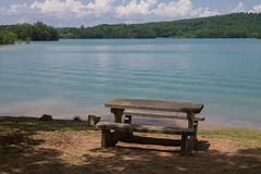 (jwcjr) Tags: picnictable lakenottely lake landscape unioncountyga nga northga northgeorgia olympus