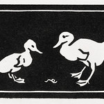 Two ducklings (1923-1924) by Julie de Graag (1877-1924). Original from The Rijksmuseum. Digitally enhanced by rawpixel. thumbnail