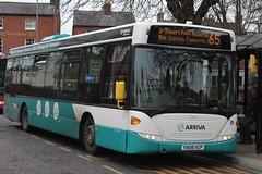 Arriva Midlands North Scania OmniLink 3803 (YN08 HZP) (Tamworth) (john-s-91) Tags: arriva arrivamidlandsnorth scaniaomnilink 3803 yn08hzp tamworth tamworthroute65